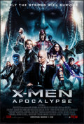 """Movie Posters:Science Fiction, X-Men: Apocalypse (20th Century Fox, 2016). Rolled, Very Fine+. One Sheet (27"""" X 40"""") DS, Advance, 3D Style. Science Fiction..."""