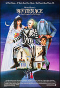 "Movie Posters:Comedy, Beetlejuice (Warner Brothers, 1988). Folded, Very Fine. One Sheet(27"" X 40""). SS, Carl Ramsey Artwork. Comedy.. ..."