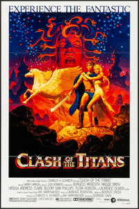 """Clash of the Titans & Other Lot (MGM, 1981). Folded, Very Fine+. One Sheet (27"""" X 41"""") & Lobby Cards (..."""