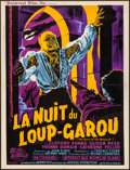 "Movie Posters:Horror, The Curse of the Werewolf (Universal International, 1961). Folded,Very Fine-. French Moyenne (23.75"" X 31"") Guy Gerard Noel..."
