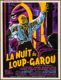 "The Curse of the Werewolf (Universal International, 1961). Folded, Very Fine-. French Moyenne (23.75"" X 31"") G..."