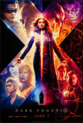 """Movie Posters:Science Fiction, Dark Phoenix (20th Century Fox, 2019). Rolled, Near Mint. One Sheet (27"""" X 40"""") DS, Advance, Style B. Science Fiction.. ..."""