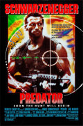"""Movie Posters:Science Fiction, Predator (20th Century Fox, 1987). Rolled, Very Fine. One Sheet(27"""" X 41"""") SS. Science Fiction.. ..."""