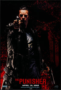 "The Punisher (Lions Gate, 2004). Rolled, Very Fine/Near Mint. One Sheet (27"" X 40"") SS, Advance. Tim Bradstree..."