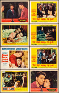 """Movie Posters:Drama, The Left Hand of God & Other Lot (20th Century Fox, 1955).Overall: Fine/Very Fine. Lobby Cards (12) (11"""" X 14""""). Dra..."""