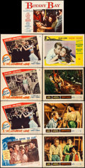 "Movie Posters:Adventure, Two Years Before the Mast & Other Lot (Paramount, 1946). Overall: Fine+. Lobby Cards (8) (11"" X 14"") & Trimmed Lobby Card (1... (Total: 9 Items)"