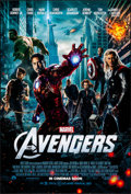 "Movie Posters:Science Fiction, The Avengers (Paramount, 2012). Rolled, Very Fine+. One Sheet (27""X 40"") DS, Advance. Science Fiction.. ..."