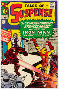 Tales of Suspense #52 (Marvel, 1964) Condition: VG