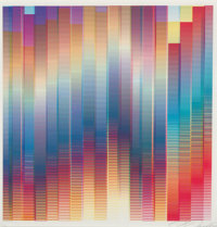 Felipe Pantone (Argentinian/Spanish, b. 1986) Subtractive Variability 4 (First Edition), 2018 Digital print in colors...
