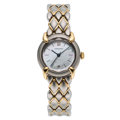 Estate Jewelry:Watches, Chaumet Lady's Mother-of-Pearl, Gold, Stainless Steel Watch. ...