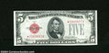Small Size:Legal Tender Notes, Fr. 1527* $5 1928B Legal Tender Star Note. Choice Crisp Uncirculated....