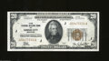 Small Size:Federal Reserve Bank Notes, 1929 $20 Federal Reserve Bank Note, Fr-1870-J, Choice CU. ...