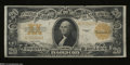 Large Size:Gold Certificates, Fr. 1187 $20 1922 Gold Certificate About Very Fine. Crisp ...