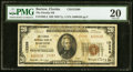 National Bank Notes:Florida, Bartow, FL - $20 1929 Ty. 2 The Florida NB Ch. # 13389 PMG Very Fine 20.. ...