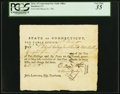 Colonial Notes:Connecticut, Connecticut Pay Table Office March 29, 1782 £10.2s.8d PCGS VeryFine 35.. ...