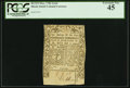 Colonial Notes:Rhode Island, Rhode Island May 1786 2s 6d PCGS Extremely Fine 45.. ...
