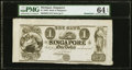 Obsoletes By State:Michigan, Singapore, MI- Bank of Singapore $1 18__ G2 Remainder PMG Choice Uncirculated 64 EPQ.. ...