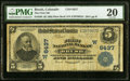 Brush, CO - $5 1902 Plain Back Fr. 598 The First NB Ch. # (W)6437 PMG Very Fine 20