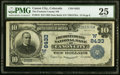 National Bank Notes:Colorado, Canon City, CO - $10 1902 Date Back Fr. 618 The Fremont County NB Ch. # (W)8433 PMG Very Fine 25.. ...