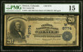 Denver, CO - $20 1902 Date Back Fr. 644 The Central NB Ch. # (W)8774 PMG Choice Fine 15