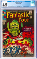 Silver Age (1956-1969):Superhero, Fantastic Four #49 (Marvel, 1966) CGC VG/FN 5.0 Off-white to white pages....