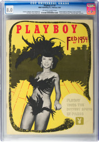 Playboy #3 (HMH Publishing, 1954) CGC VF 8.0 Off-white to white pages