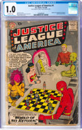 Silver Age (1956-1969):Superhero, Justice League of America #1 (DC, 1960) CGC FR 1.0 Off-whi...