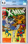 Bronze Age (1970-1979):Superhero, X-Men #65 (Marvel, 1970) CGC NM- 9.2 Off-white pages....