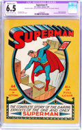 Golden Age (1938-1955):Superhero, Superman #1 (DC, 1939) CGC Apparent FN+ 6.5 Moderate/Extensive (A-4) Cream to off-white pages....