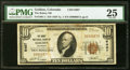 National Bank Notes:Colorado, Golden, CO - $10 1929 Ty. 1 The Rubey NB Ch. # 6497 PMG Very Fine 25.. ...