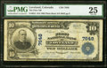 National Bank Notes:Colorado, Loveland, CO - $10 1902 Plain Back Fr. 624 The First NB Ch. # 7648 PMG Very Fine 25.. ...