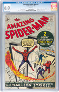 Silver Age (1956-1969):Superhero, The Amazing Spider-Man #1 (Marvel, 1963) CGC FN 6.0 White pages....