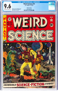 Weird Science #10 Gaines File Pedigree 11/11 (EC, 1951) CGC NM+ 9.6 Off-white to white pages