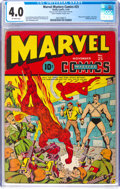 Golden Age (1938-1955):Superhero, Marvel Mystery Comics #25 (Timely, 1941) CGC VG 4.0 Off-white pages....