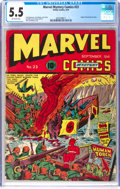 Golden Age (1938-1955):Superhero, Marvel Mystery Comics #23 (Timely, 1941) CGC FN- 5.5 Off-white pages....
