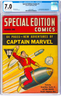Special Edition Comics #1 (Fawcett Publications, 1940) CGC FN/VF 7.0 Cream to off-white pages