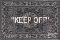Virgil Abloh X Ikea Keep Off, 2019 Area Rug 69 x 79 inches (175.3 x 200.7 cm) Produced by Ikea