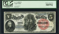 Fr. 74 $5 1880 Legal Tender PCGS Choice About New 58PPQ