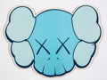 Collectible:Contemporary, KAWS X OriginalFake. Mousepad (Blue), 2005. Screenprint on plastic with foam backing. 8-1/4 x 11 inches (21 x 27.9 cm). ...