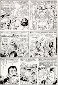 Jack Kirby and Don Heck Tales To Astonish #44 Story Page 12 Ant-Man and the Wasp Original Art (Marvel, 1963)
