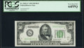 Fr. 2102-G* $50 1934 Dark Green Seal Federal Reserve Star Note. PCGS Very Choice New 64PPQ