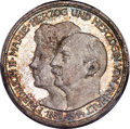 "German States:Anhalt-Dessau, German States: Anhalt-Dessau. Friedrich II ""Wedding"" 3 Mark 1914-A MS66 PCGS,..."