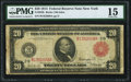 Fr. 953b $20 1914 Red Seal Federal Reserve Note PMG Choice Fine 15
