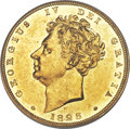 Great Britain: George IV gold Proof Sovereign 1825 PR61 PCGS