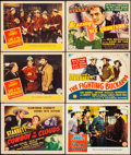 "Movie Posters:Western, Cowboy in the Clouds (Columbia, 1943). Very Fine-. Title LobbyCards (4) & Lobby Cards (7) (11"" X 14""). Western.. ... (Total:11 Items)"