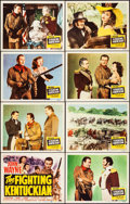 """Movie Posters:Western, The Fighting Kentuckian (Republic, 1949). Very Fine+. Lobby Card Set of 8 (11"""" X 14""""). Western.. ... (Total: 8 Items)"""