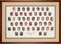 Basketball Collectibles:Others, 1996 NBA's 50 Greatest Players Signed Lithograph--Paul Ari...