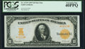 Large Size:Gold Certificates, Fr. 1172* $10 1907 Gold Certificate PCGS Extremely Fine 40PPQ.. ...