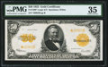 Large Size:Gold Certificates, Fr. 1200* $50 1922 Gold Certificate PMG Choice Very Fine 35.. ...