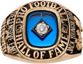 Football Collectibles:Others, 2001 Pro Football Hall of Fame Induction Ring Presented to Jack Youngblood....